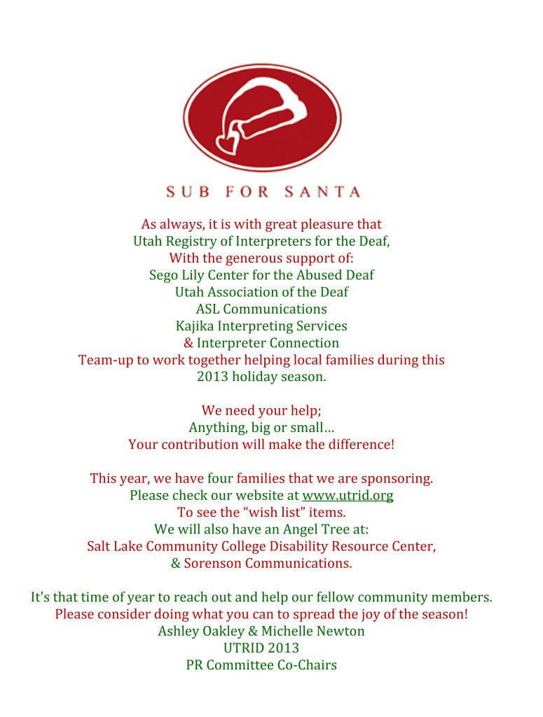 Microsoft Word - Sub for Santa.docx