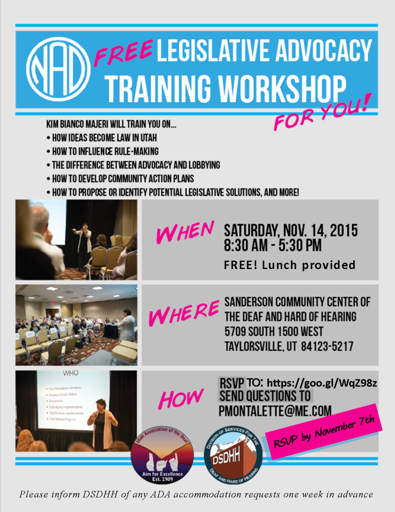 NAD.Legislative Training