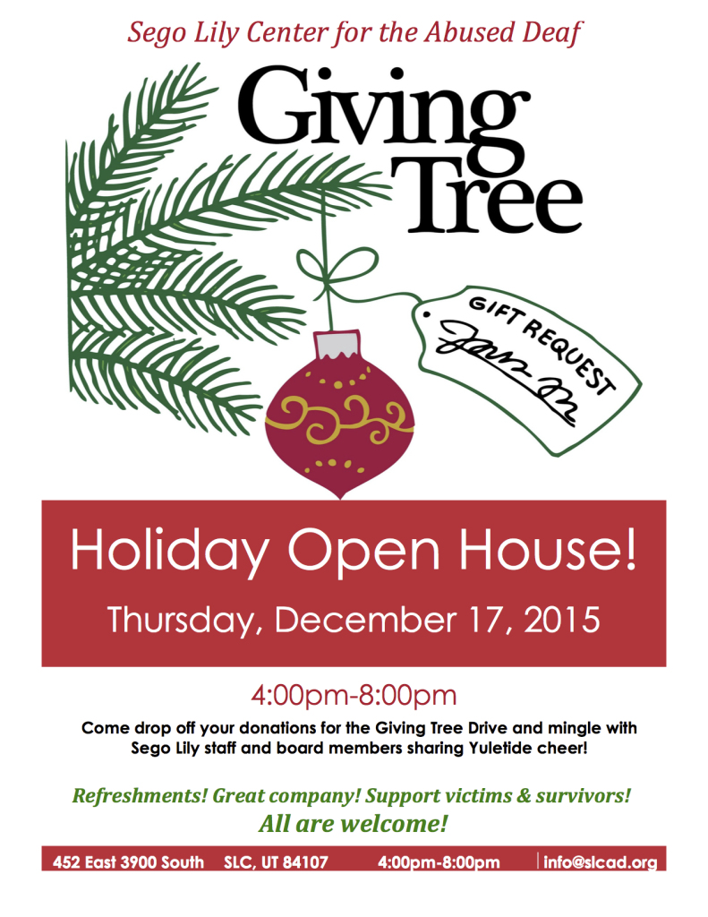 Sego Lily Holiday Open House 2015
