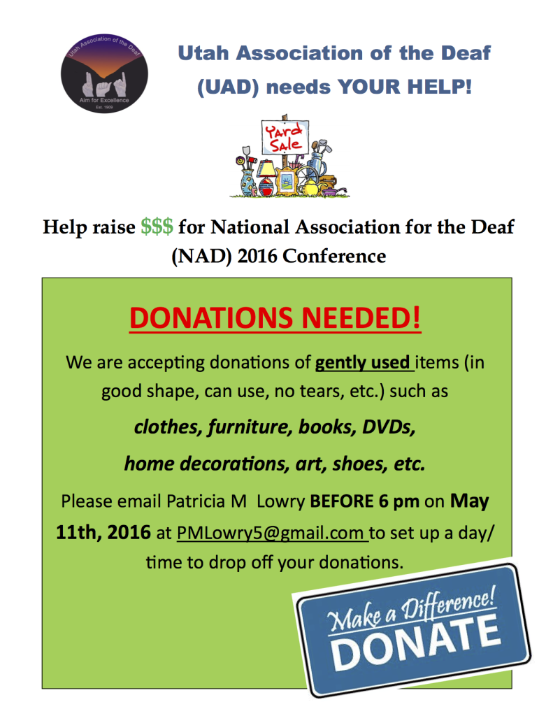UAD DONATION 2016